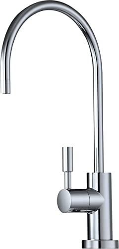 Avanti Designer Kitchen Bar Sink Reverse Osmosis RO Filtration Drinking Water Faucet – NSF certified, built-in Air Gap, ceramic disk, lead-free – RF888A-BN Brushed Nickel