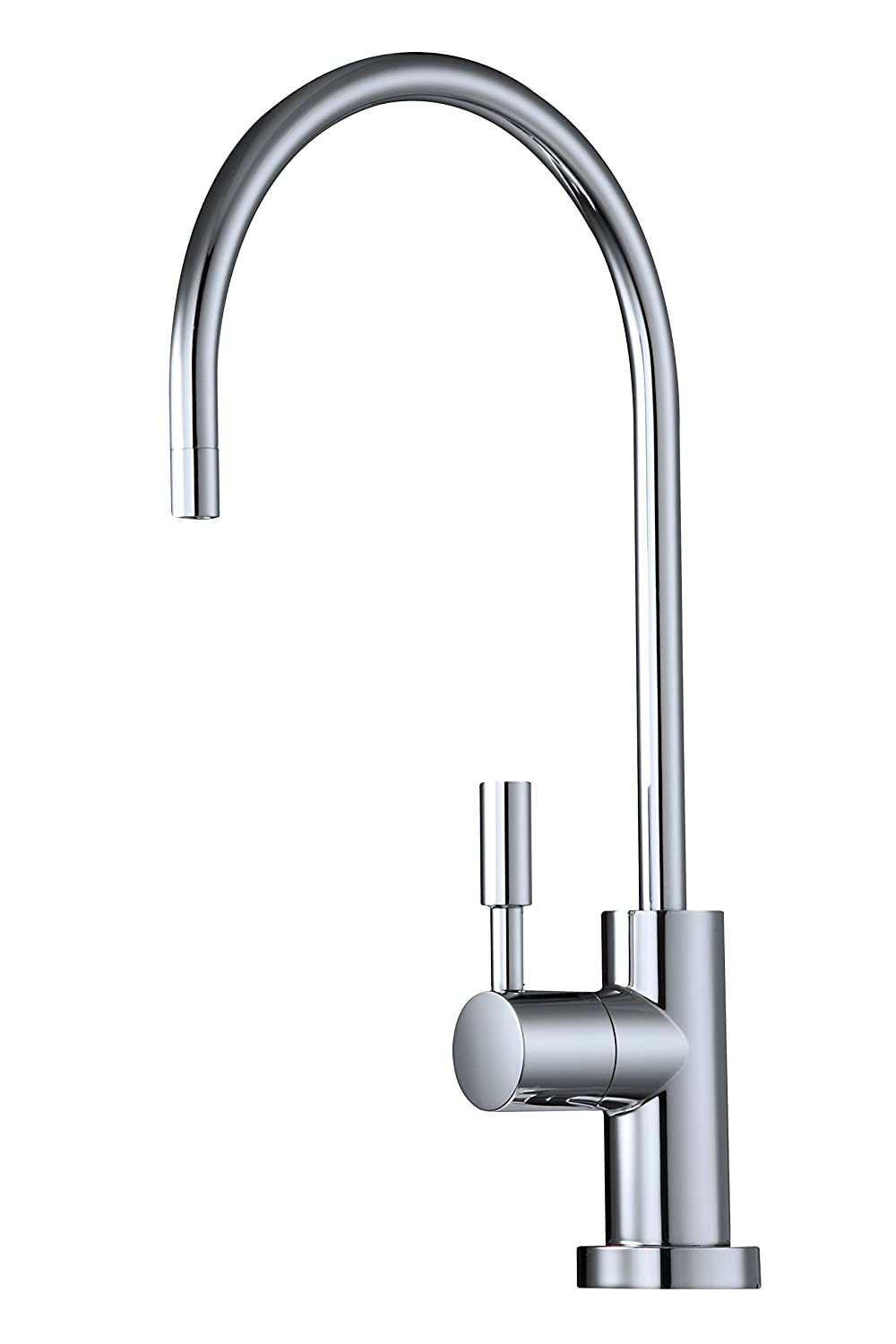 Avanti Designer Kitchen Bar Sink Reverse Osmosis RO Filtration Drinking Water Faucet for 3 8 supply tube – NSF certified, ceramic disk, lead-free, non-air gap – RF888-06CP Polished Chrome