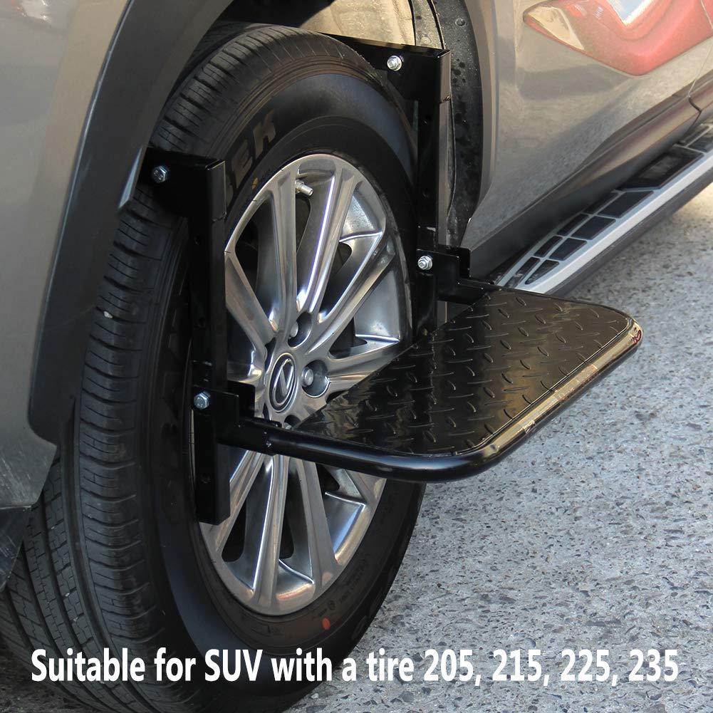 Lulu Home Tire Step, Heavy Duty Truck Wheel Step