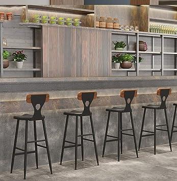 YI KUI Intage Tabourets de Bar Comptoir Chaise de Cuisine ...