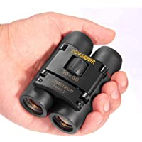 DFlamepower mini 30x60 Compact Folding Binoculars Telescope with Waterproof for kids/adults/outdoor birding/travelling/sightseeing/hunting/birdwatching