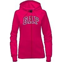 GAP Women's Full Zip Fleece Logo Hoodie