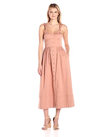 c00c12e121ef Amazon.com  Rebecca Taylor Women s Sl Ctn Midi Dress  Clothing
