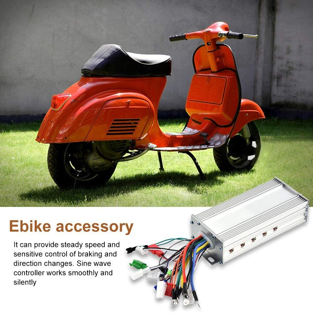 36//48V 500//1000W For E-Bike Scooter Brushless Motors Speed Controller Practial