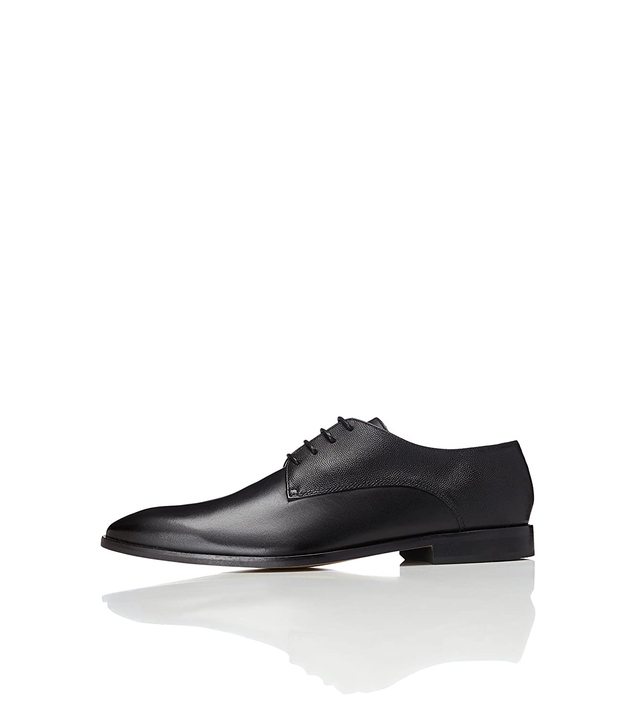 Find Zapato de Cordones Piel Grabada para Hombre 45 EU|Negro (Black)