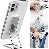 Phone Ring Holder, Senose Phone Kickstand Holder for Hand, Foldable Phone Finger Holder Grip for Magnetic Car Mount Compatibl