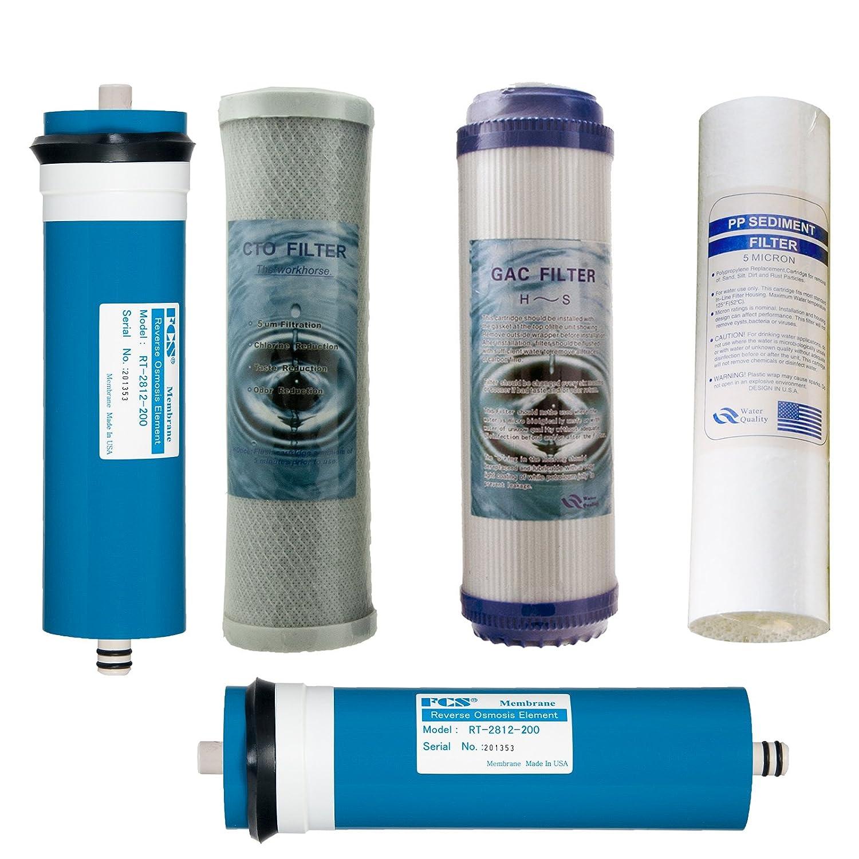 Juego de 3/filtros de repuesto para Vyair ro-6-complete la /ósmosis inversa filtro