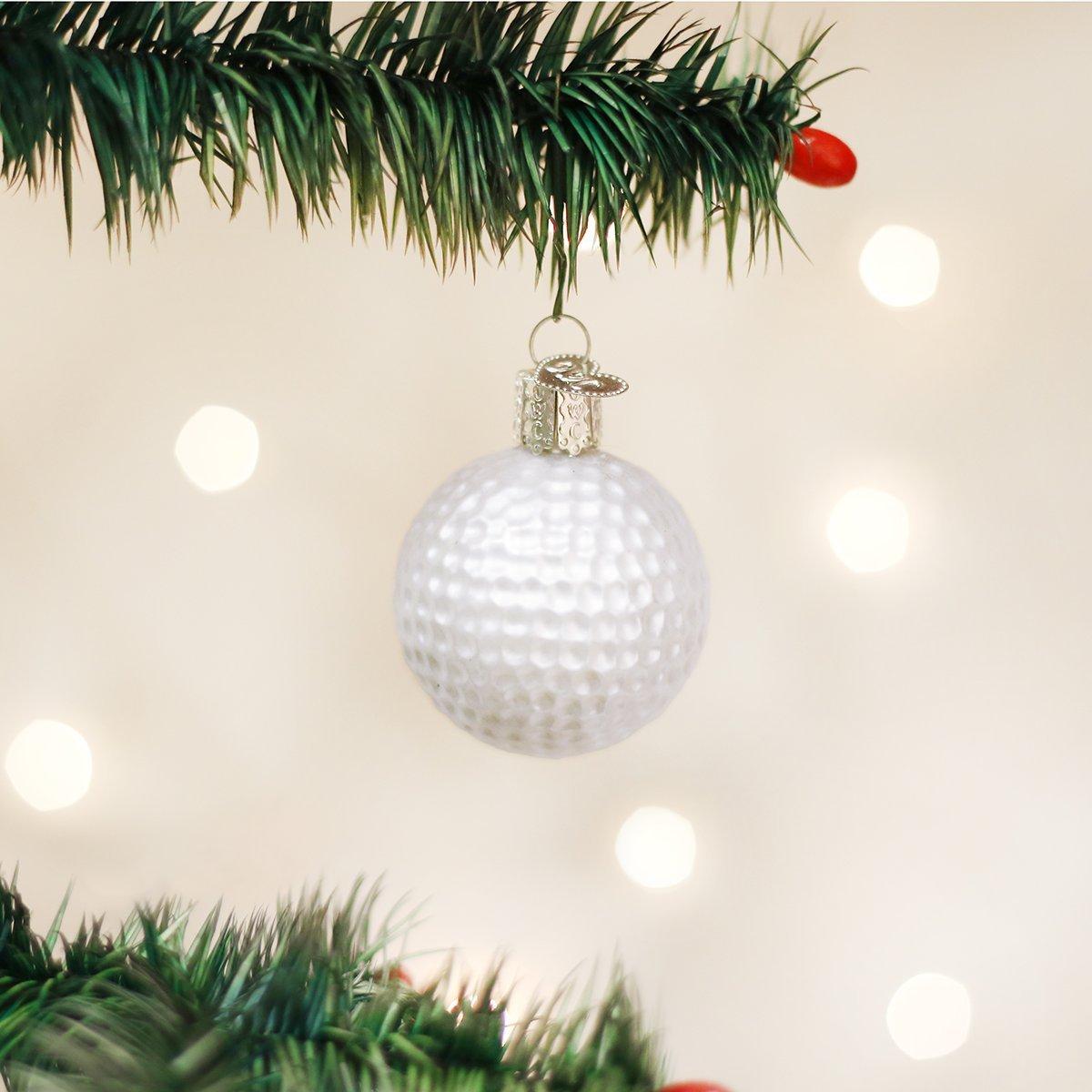 Camera christmas ornaments - Amazon Com Old World Christmas Golf Ball Glass Blown Ornament Home Kitchen