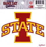 NCAA Iowa State Cyclones Small Window Decal/Stickers