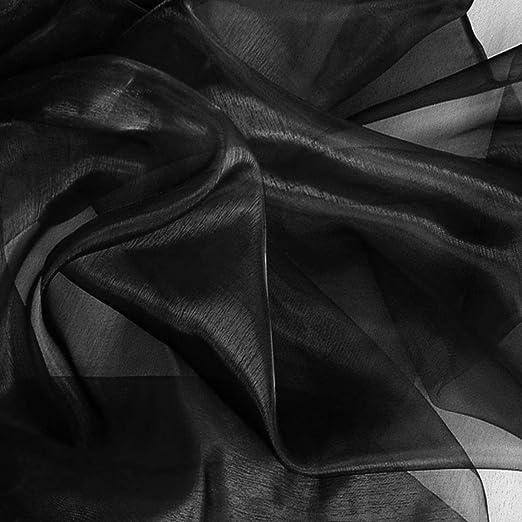 weich fallend Stoff für Kleidung Gardine Vorhang Deko-Meterware edler CHIFFON