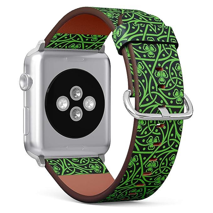 S-Type iWatch - Correa de Piel para Apple Watch (38 mm), diseño ...