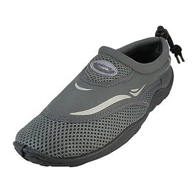 Cambridge Select Men's Quick Dry Mesh Non-Slip Drawstring Water Shoe | Shoes