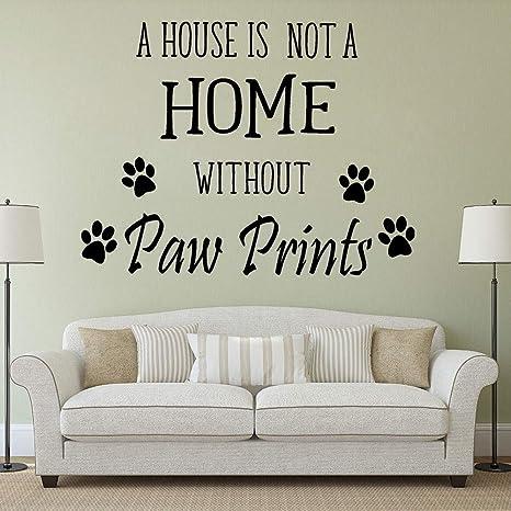 57x43cm Mascotas Letras Arte de la pared Mascotas Animales Perros ...