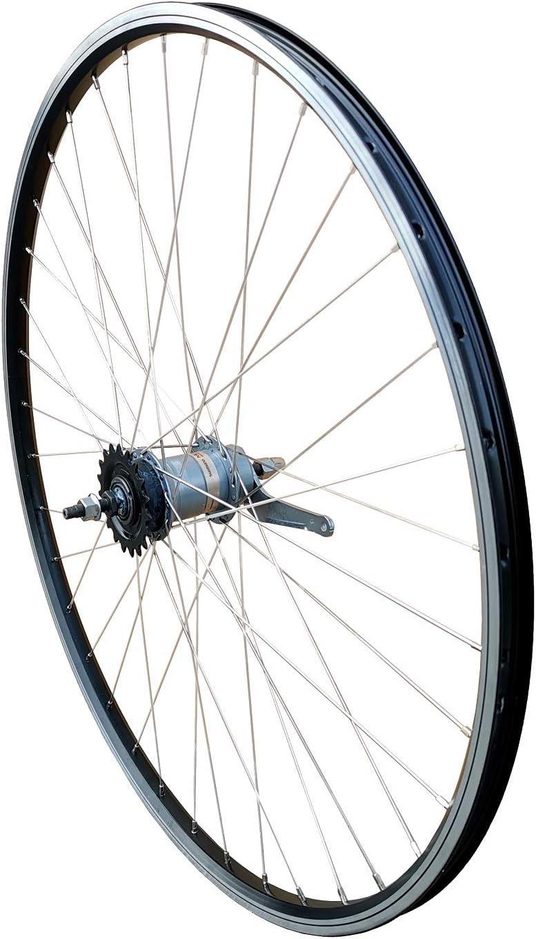 28 pulgadas Rueda trasera RMX SG-7 C30 – Llanta geöst con buje de 3 velocidades Shimano: Amazon.es: Deportes y aire libre