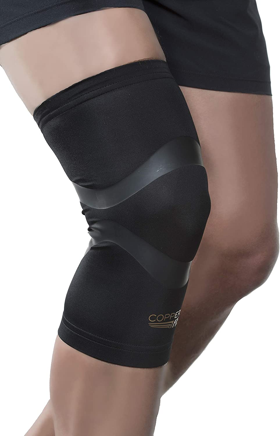 Copper Fit Pro Series Compression Knee Sleeve,Packaging may Vary: Clothing