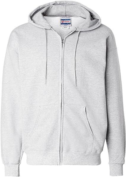 HANES Men/'s Ultimate Cotton Full-Zip Hooded Sweatshirt Hoodie F280-10 COLORS-NEW