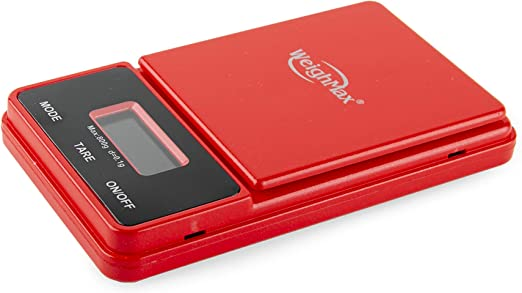 Amazon.com: Weighmax NJ800 Ninja Digital Pocket Scale - (Red ...