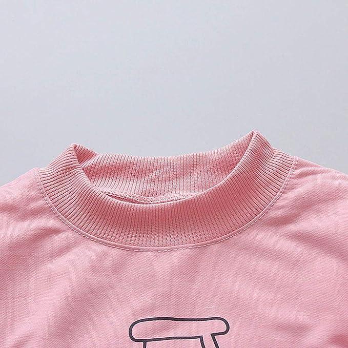 Conjuntos para Unisex Bebés Niños Niñas Otoño Invierno 2018 Moda PAOLIAN Camisetas Manga Largas de Sudaderas sin Capucha + Pantalones Fiestas Ropa para ...