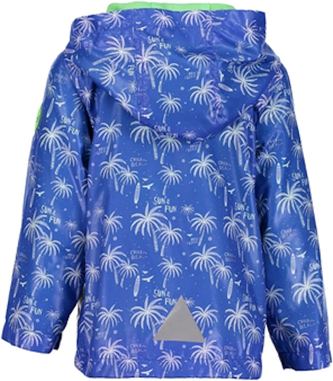Blue Seven Baby Jungen Jacke Kapuze Sommerjacke blau Bedruckt