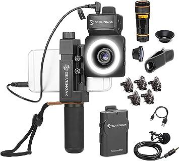 Sevenoak SmartCine W1 - Kit de vídeo inalámbrico para smartphone ...