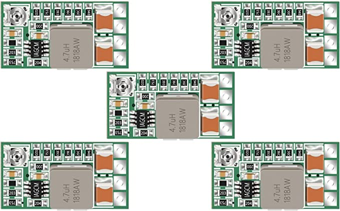 5pc mini USB to DIP Adapter Converter for 2.54mm PCB Board DIY Power Supply-SL