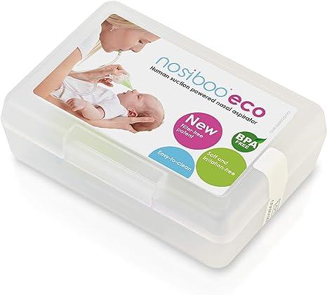 Nosiboo Eco Baby - Aspirador nasal para mocos: Amazon.es: Bebé