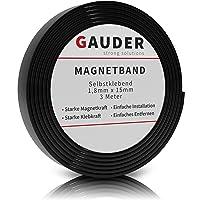 GAUDER Cinta Magnética Adhesiva Fuerte | Banda Magnética