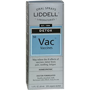 Amazon com: Liddell Homeopathic Anti-Tox Vaccine - Safe and