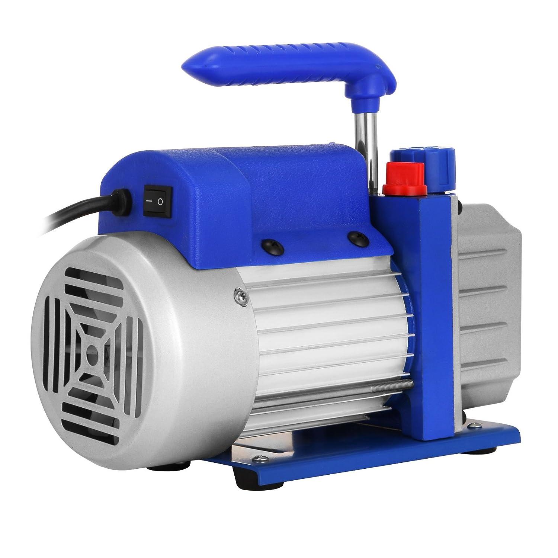 2 Gallon 4 CFM Bestauto Vacuum Pump 2 Gallon/Vacuum Chamber Silicone Expoxy Degassing/with 4CFM 1//3HP/Single Stage Vacuum Pump