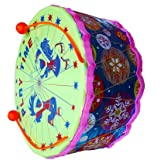 Dhanu Medium Size Drum for Kids - design may vary