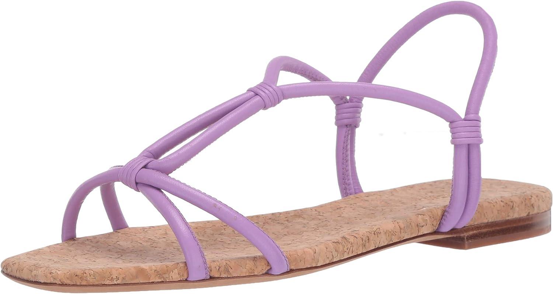 Vince Womens Strappy Flat Sandal