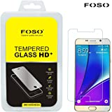 FOSO(TM) Samsung Note 5 9H Hardness Toughened Tempered Glass Screen Guard Protector