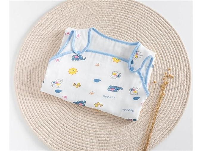 Guardería Bebé Bolsa de dormir anti-patada del verano del bebé recién nacido Sección delgada Sleepsacks adecuado para 0-24 meses Cobija: Amazon.es: Bebé