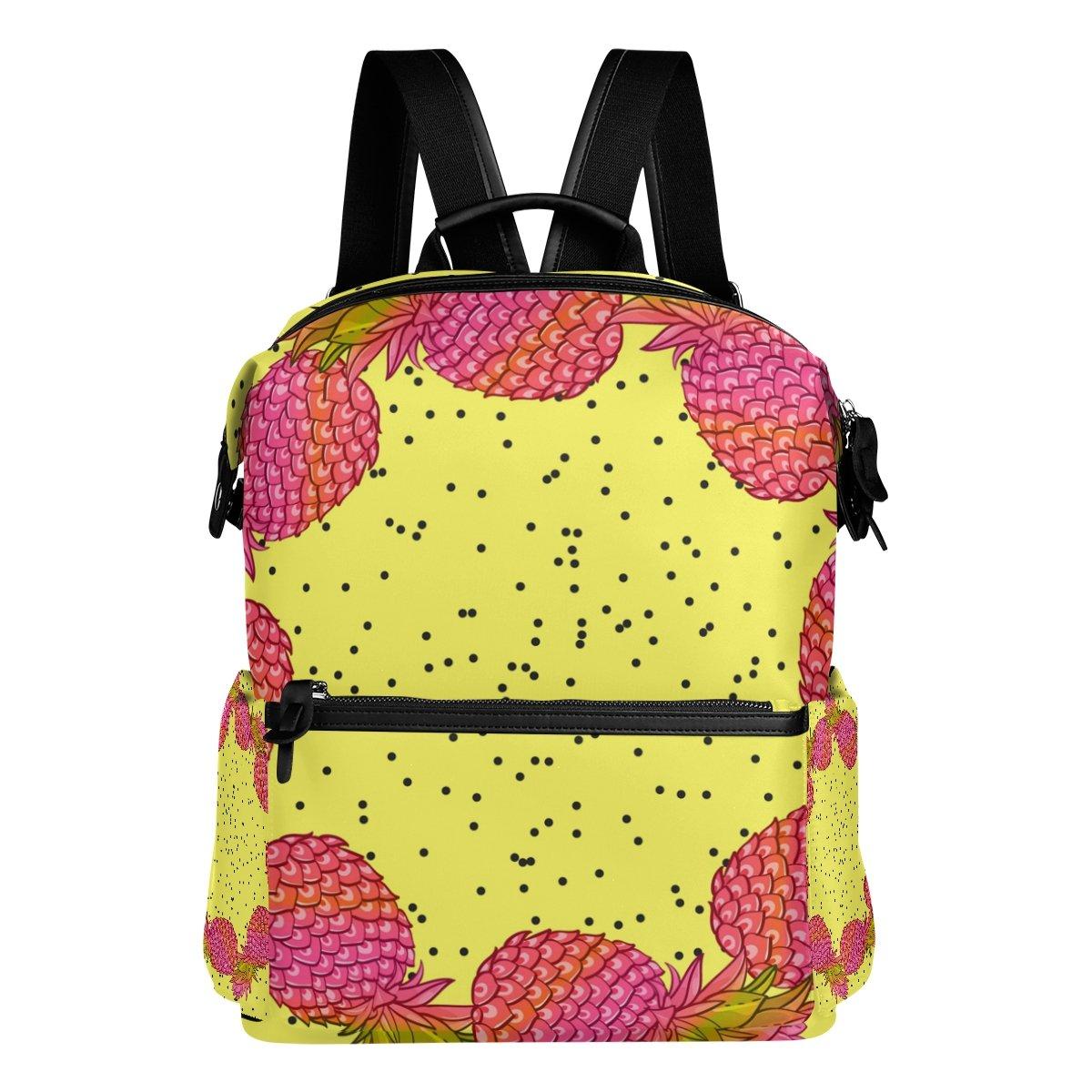 COOSUN Piña creativa de moda arte de la guirnalda guirnalda guirnalda de escuela de la mochila del morral del recorrido Multi a90fc9