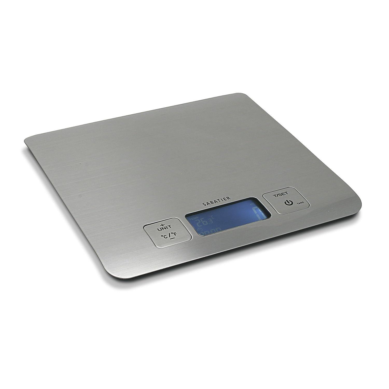 Sabatier Stainless Steel Kitchen Scale, Silver 5159088