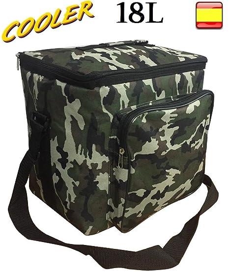 hidalgo Nevera 18L flexible portátil para playa camping bolsa ...