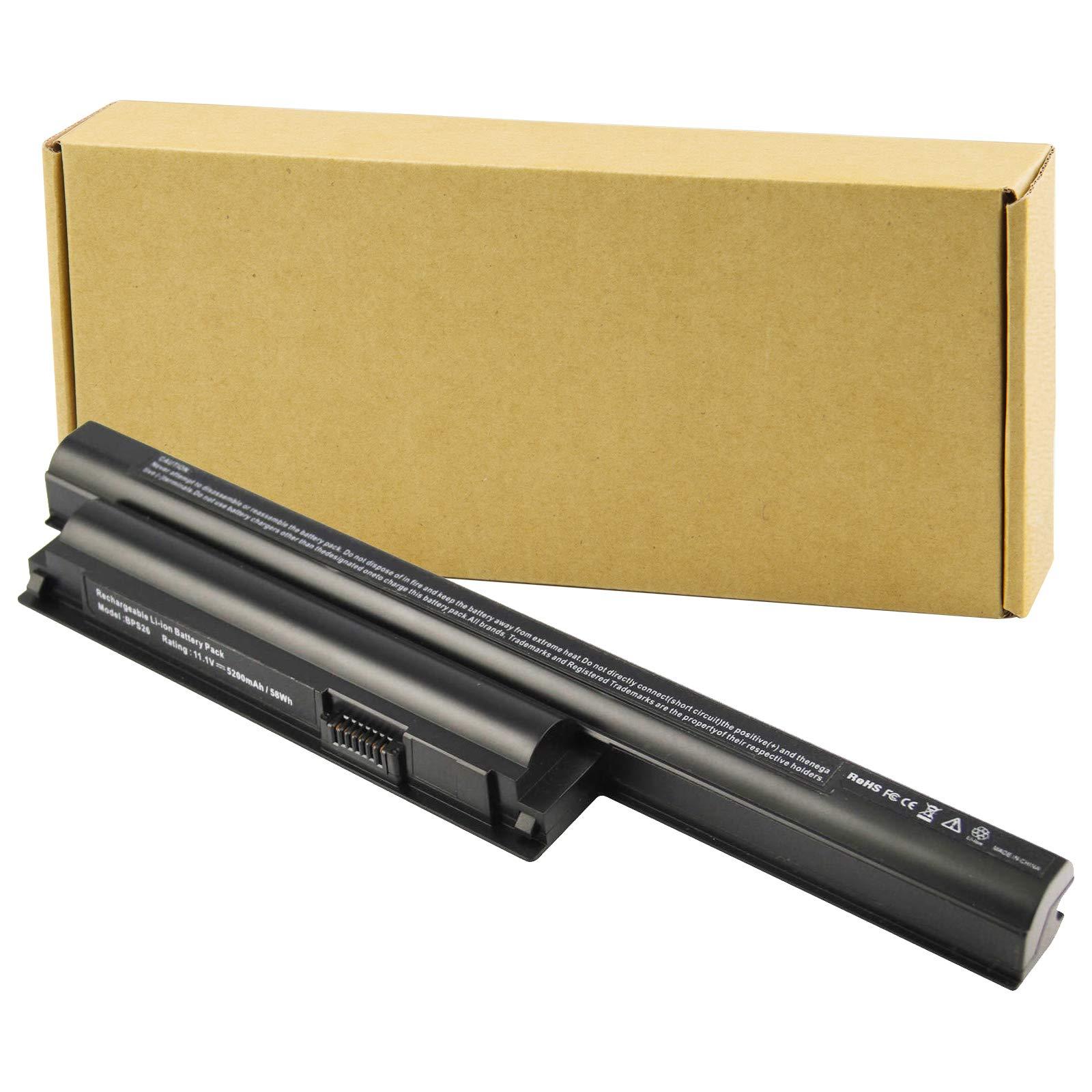 BPS26 New Laptop Battery fit Sony VAIO VGP-BPS26 VGP-BPL26 VGP-BPS26A PCG-61A12L PCG-61A13L PCG-61A14L PCG-71713L PCG-71912L PCG-71913L -Futurebatt
