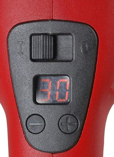 Rosso Nero Auto di lucidatura a Matrix 700000150/Lucidatrice tp1200/Fairline 180/mm Diametro 1200/W 220/V velocit/à Regolabile con Accessori