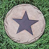 Black Forest Decor Lone Star Stepping Stone