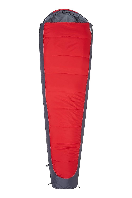 Mountain Warehouse Microlite 500 Sleepingバッグ2 / 3 Season B076PT3XCZ レッド Right Handed Zip Right Handed Zip|レッド