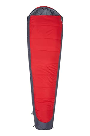 Mountain Warehouse Saco de dormir Microlite 500 Rojo Zip Izquierda