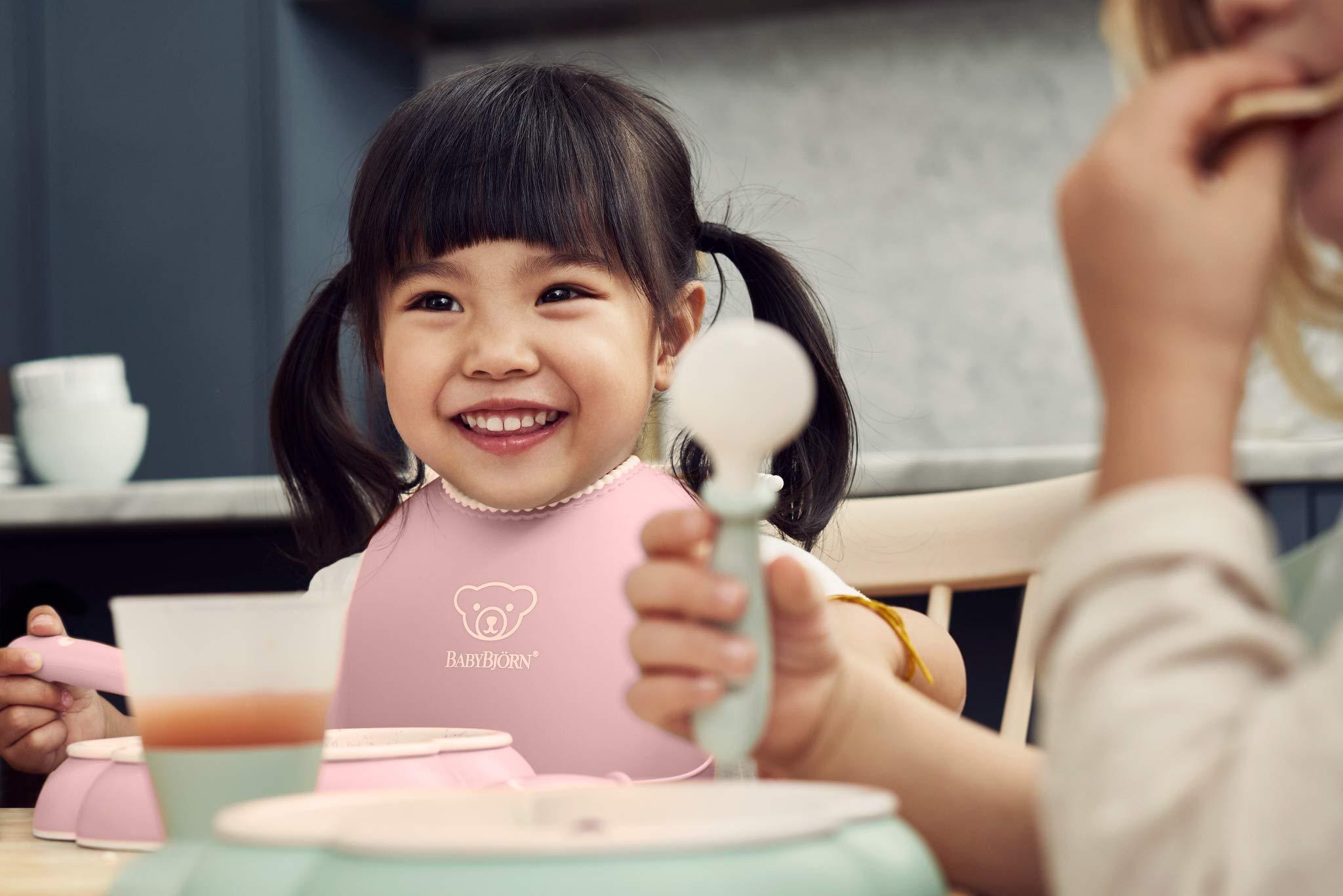 BABYBJORN Baby Dinner Set, Powder Pink by BabyBjörn (Image #7)