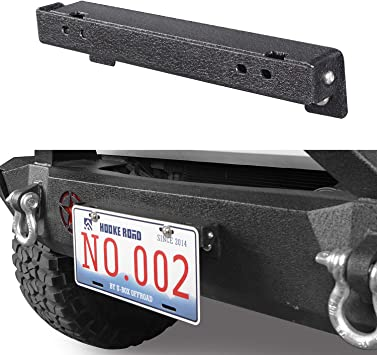 Jeep Rubicon Brush Stainless Steel 50 States License Plate Frame