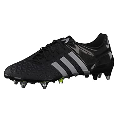 super popular ce3a3 68a8d adidas Ace 15.1 Soft Ground Mens Football Boots - Black-13 ...