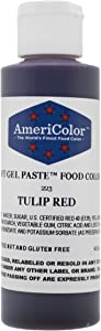 Americolor Soft Gel Paste Food Color, 4.5-Ounce, Tulip Red