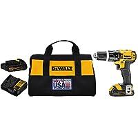 DEWALT 20V MAX Hammer Drill, Compact, 1.5-Amp Hour (DCD785C2)
