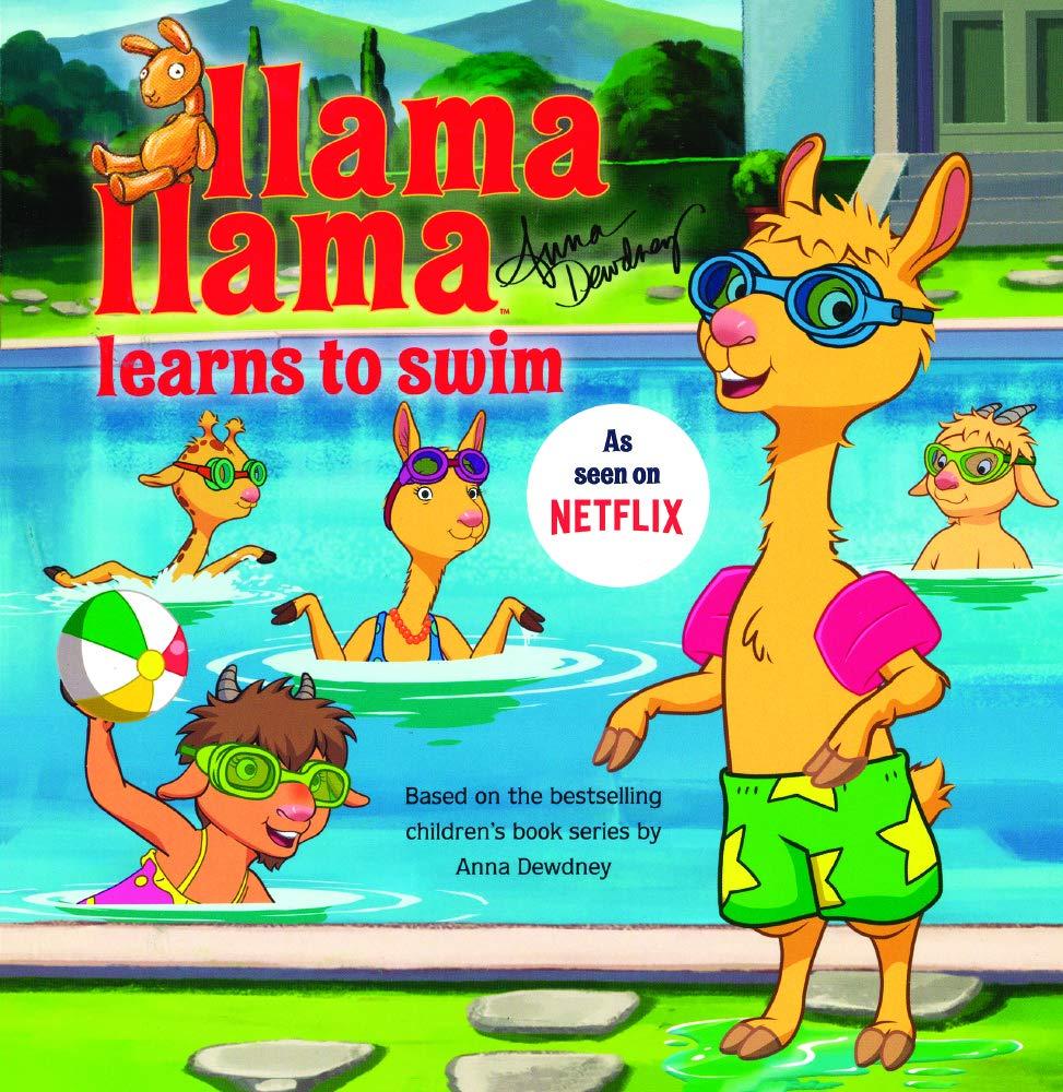 Llama Llama Learns To Swim (Turtleback School & Library Binding Edition)
