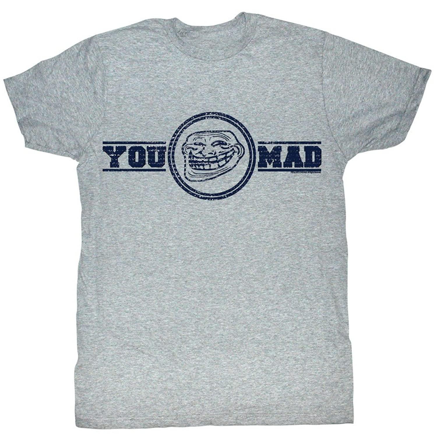 U Mad? You Mad Bro? Meme GIF Trending You Mad Logo Adult T-Shirt