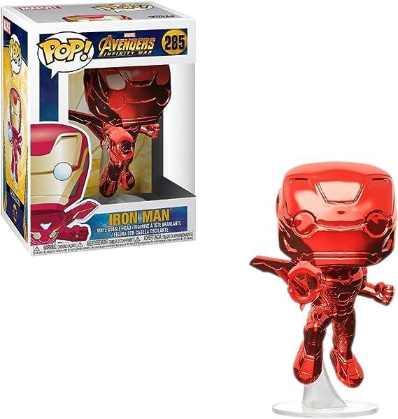Pop! Avengers Infinity War - Figura Iron Man Red Chrome Exclusive (34263): Amazon.es: Videojuegos
