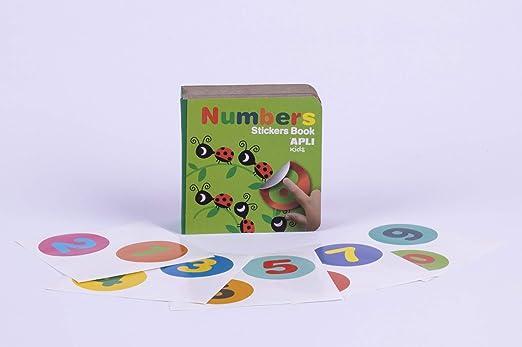 APLI Kids - Mi primer libro con gomets, Números II